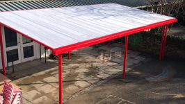 Shelter installation in Hythe