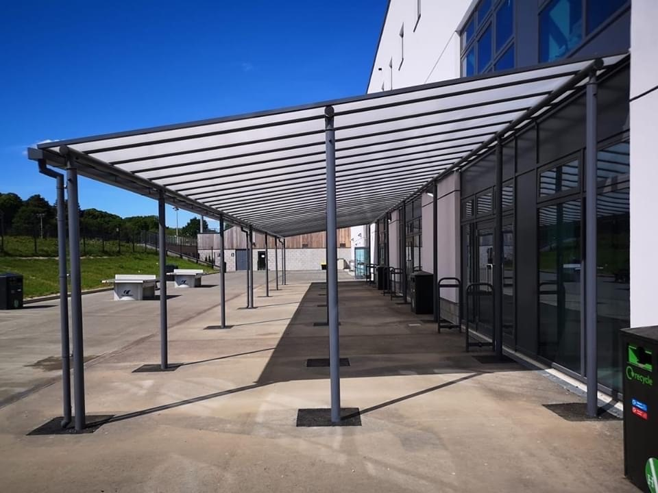 Metal Shelter – A&S Landscapes