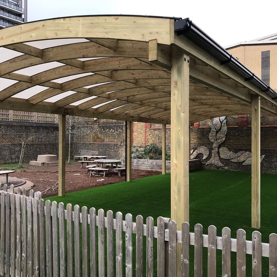 Shelter and Artificial Grass – London