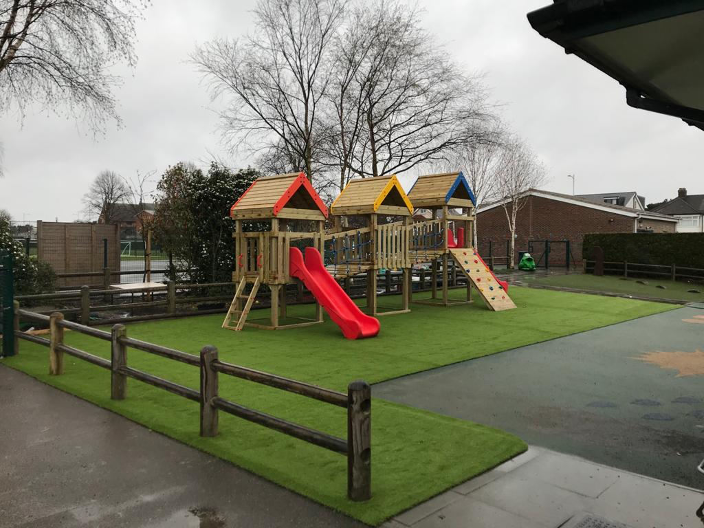 Play Equipment, Shelter and Grass – SSP