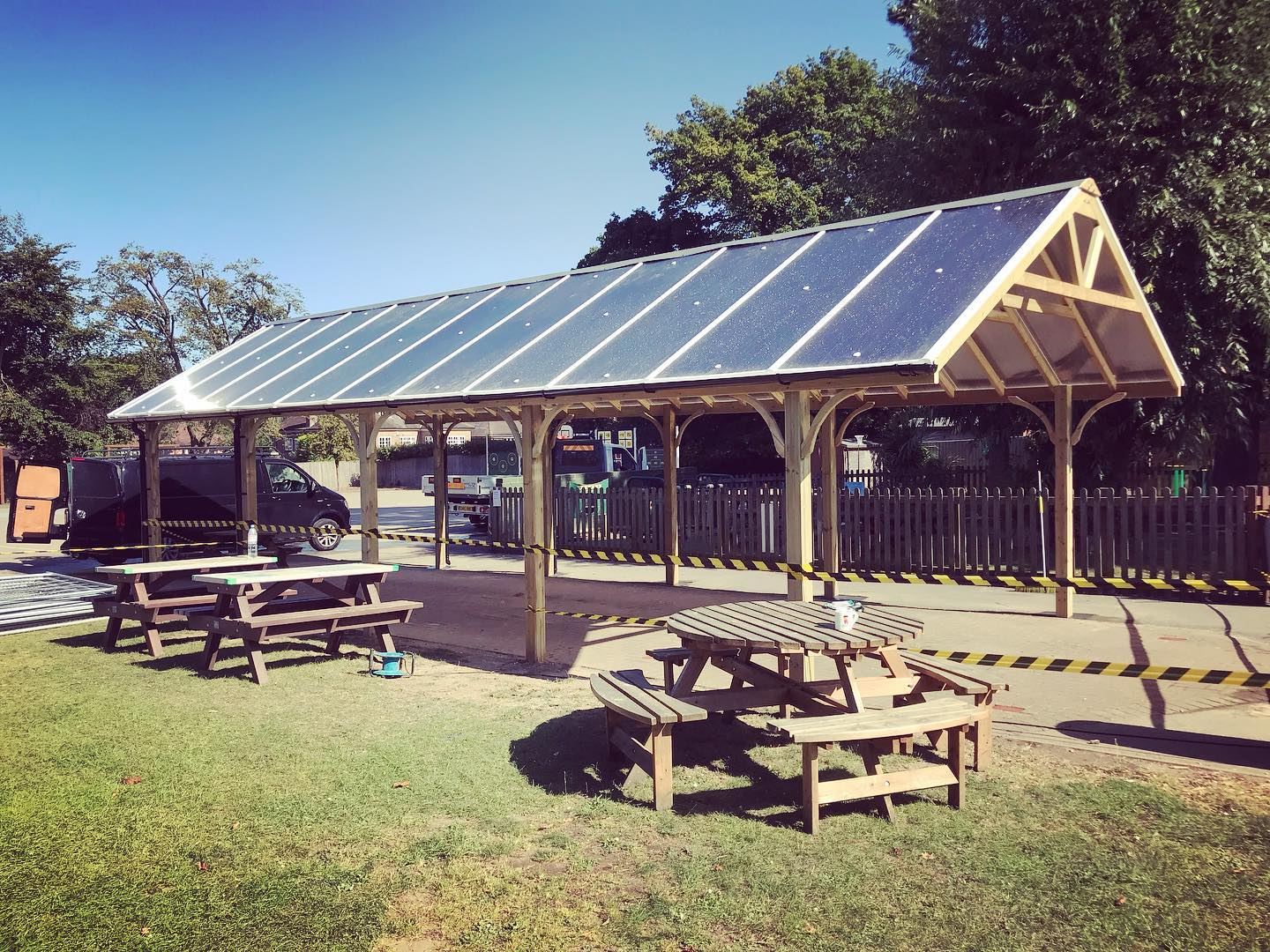 Large Timber Shelter – Playspaces