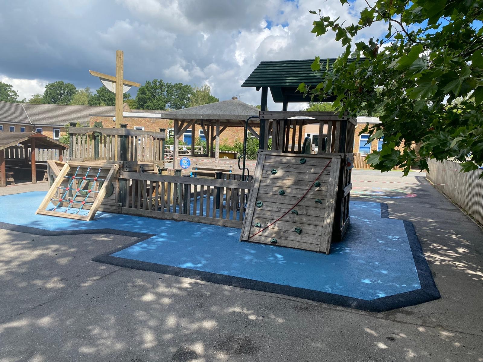 Wetpour repairs – Playspaces