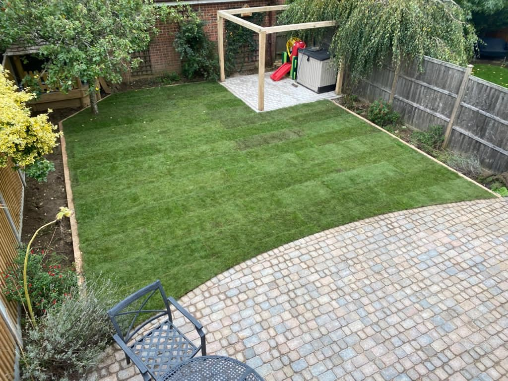 Patio Transformation – Bearsted